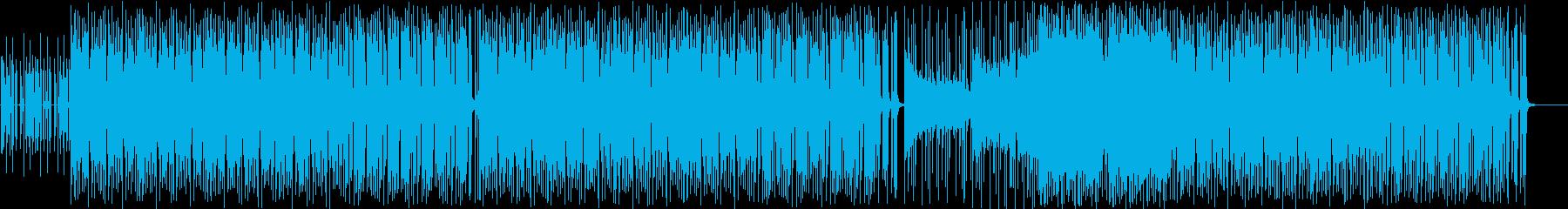 大人な雰囲気のオシャレなインストBGMの再生済みの波形
