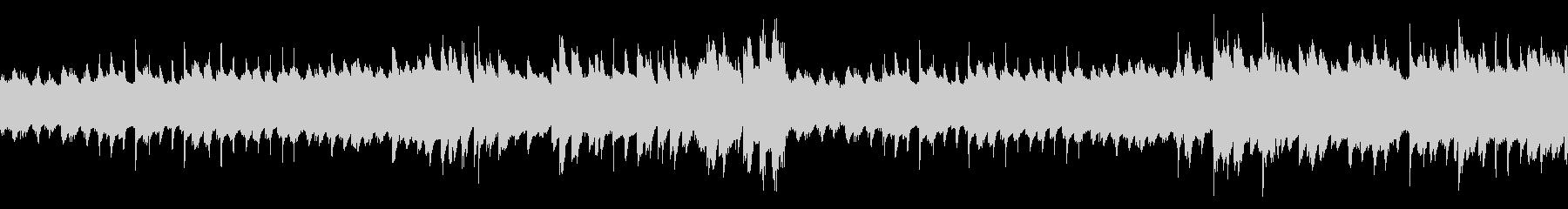 のどかで陽気なBGM(ループ仕様)の未再生の波形