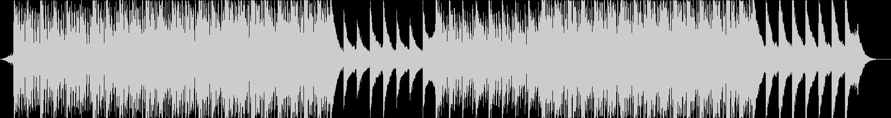 ピアノとアコギの爽やかで優しいBGMの未再生の波形