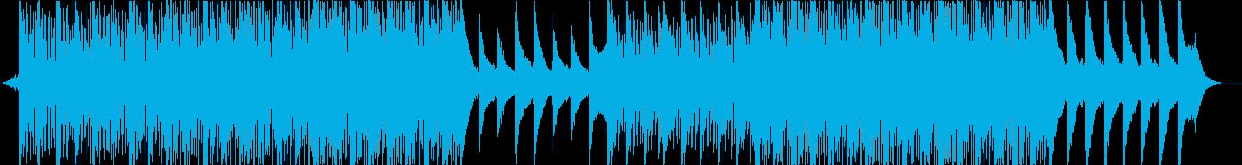 ピアノとアコギの爽やかで優しいBGMの再生済みの波形