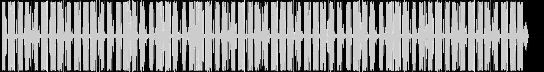 インフォグラフィックスに怪しいループの未再生の波形