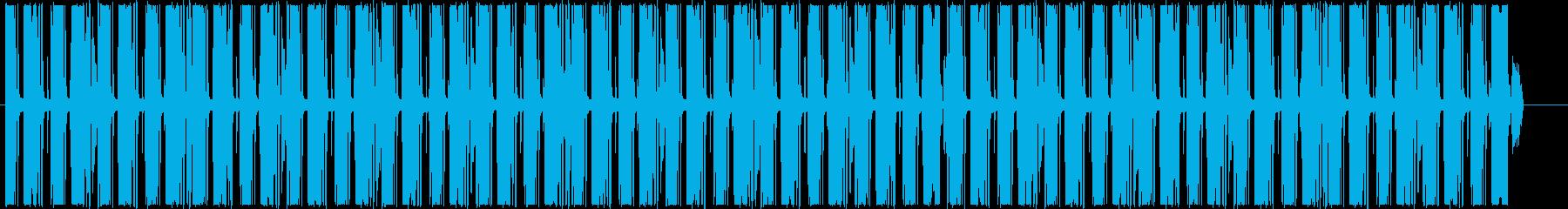 インフォグラフィックスに怪しいループの再生済みの波形