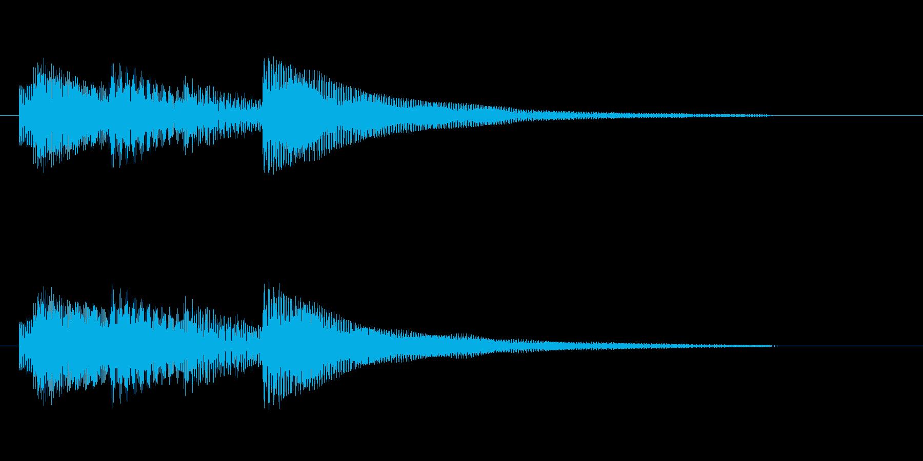 悲しげなエレピのジングル の再生済みの波形