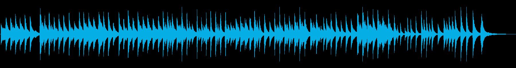 童謡「しゃぼん玉」しっとりピアノソロの再生済みの波形