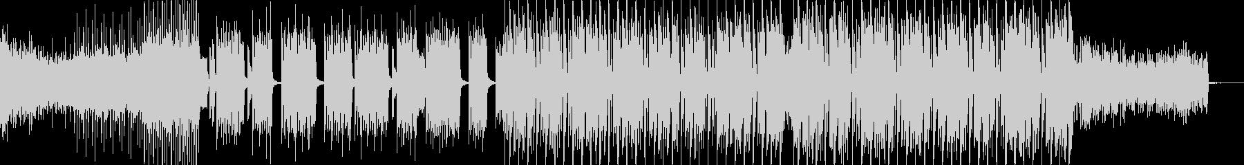 疾走感のあるFuturebass02 の未再生の波形
