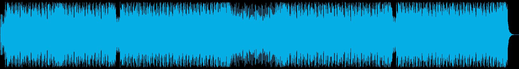 モチベーションの上がるEDM 声有りの再生済みの波形
