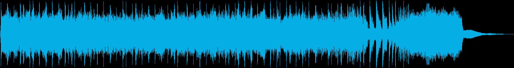 次回予告/エンディング/壮大/ギターの再生済みの波形