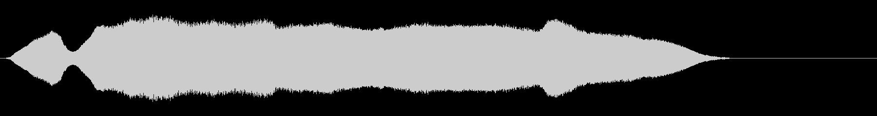 ホイッスルロングダブルブローwavの未再生の波形