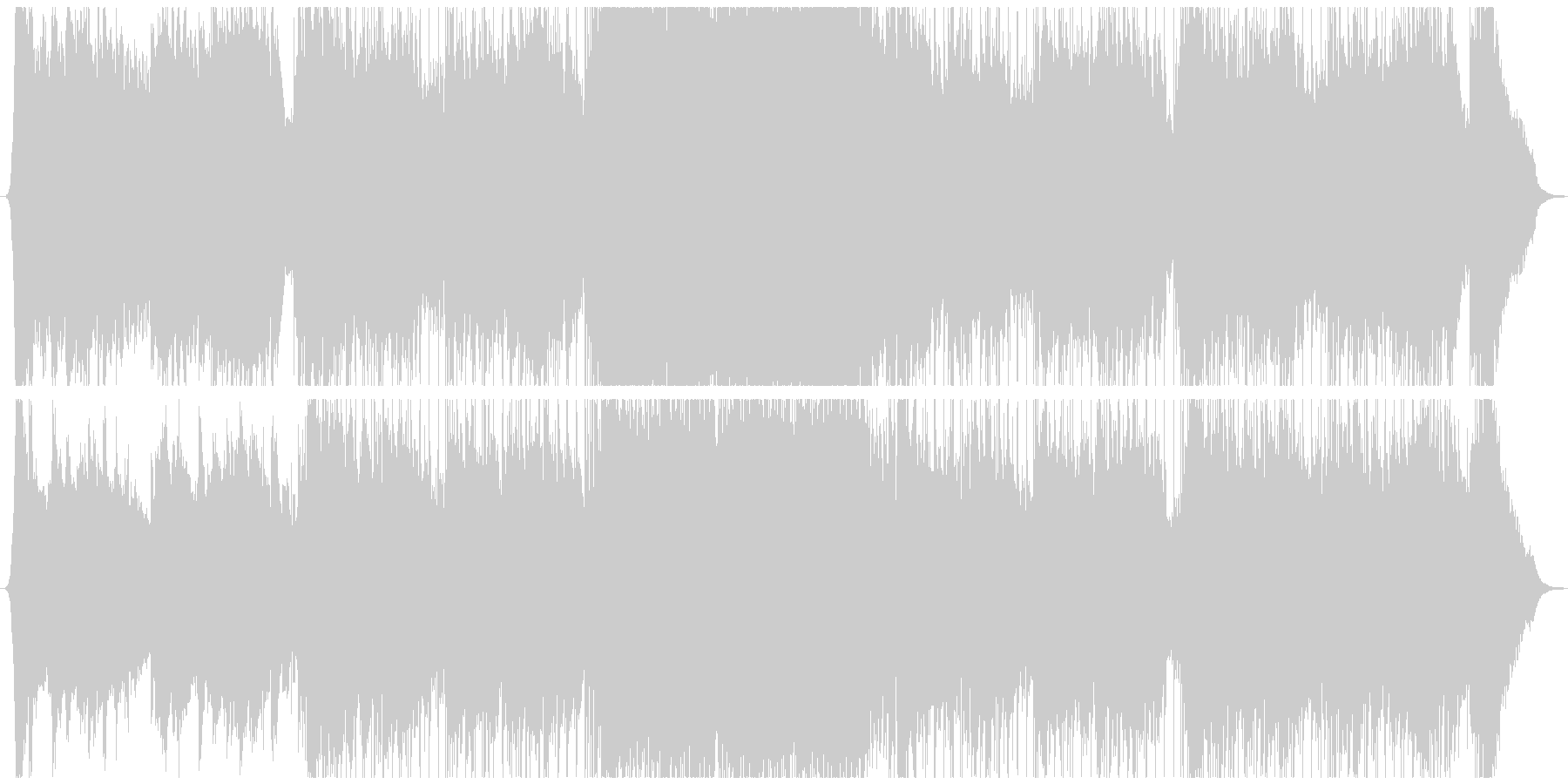 実験的 ロック ポストロック イン...の未再生の波形