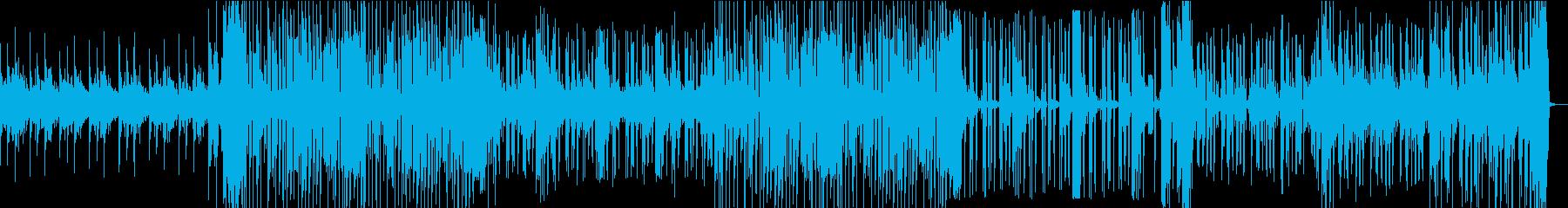 宇宙的なスクラッチクラッシュビートの再生済みの波形