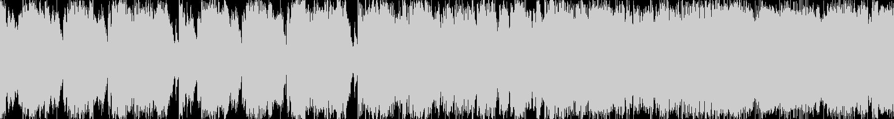 ケルト音楽風行進曲ループ BGMの未再生の波形