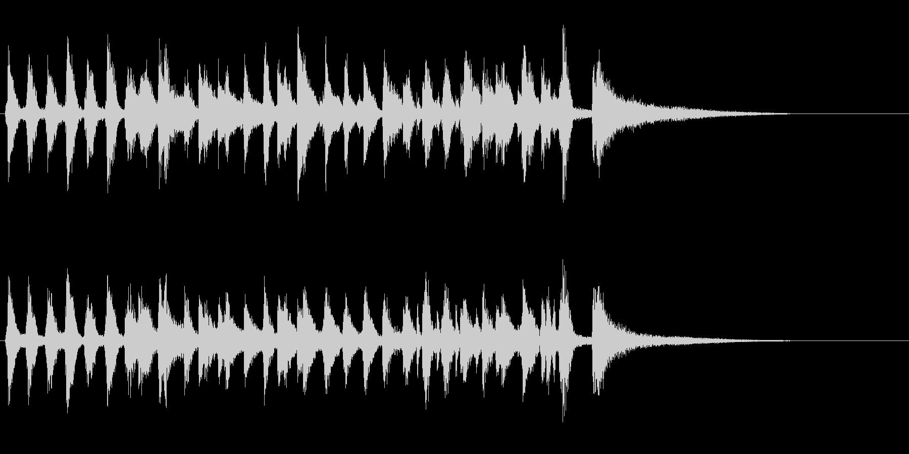生演奏ジングルピアノ暗めラグタイムジャズの未再生の波形