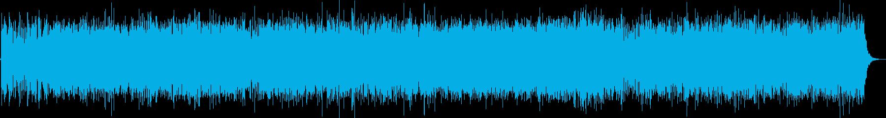 大河ドラマのオープニング風 和風な楽曲の再生済みの波形