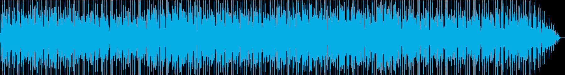 チャイム、ピアノ、ギター、ベース、...の再生済みの波形