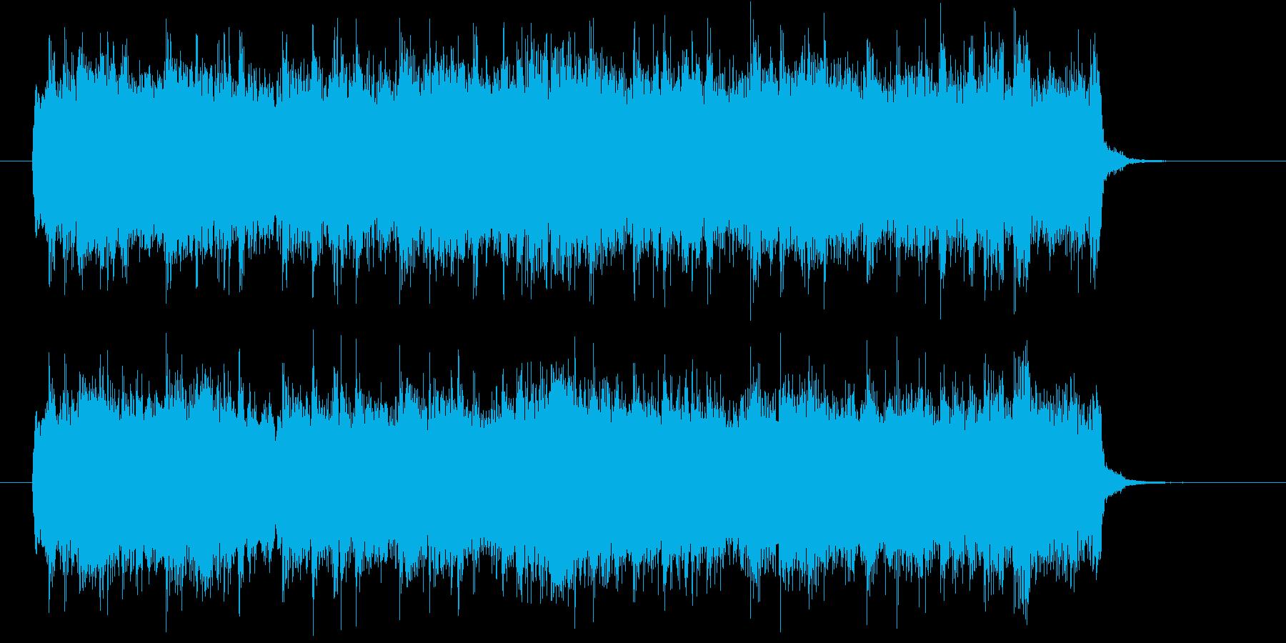 ギターのメロディがクールなロックの再生済みの波形