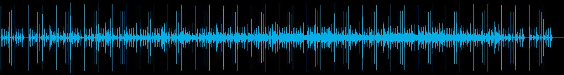 不気味で可愛いグロッケンのお化け屋敷の再生済みの波形