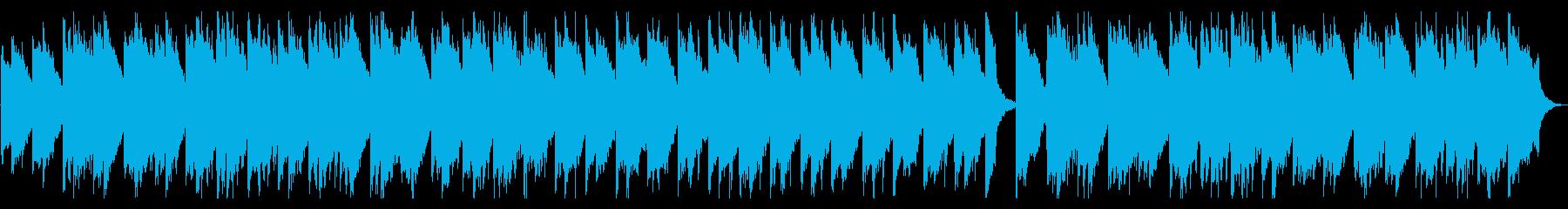 軽快でコミカルなワルツの再生済みの波形