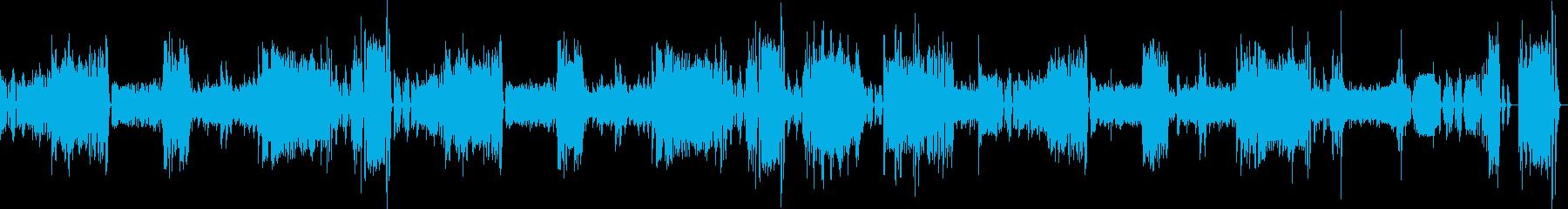 ベートーヴェンピアノソナタ第三番第一章の再生済みの波形