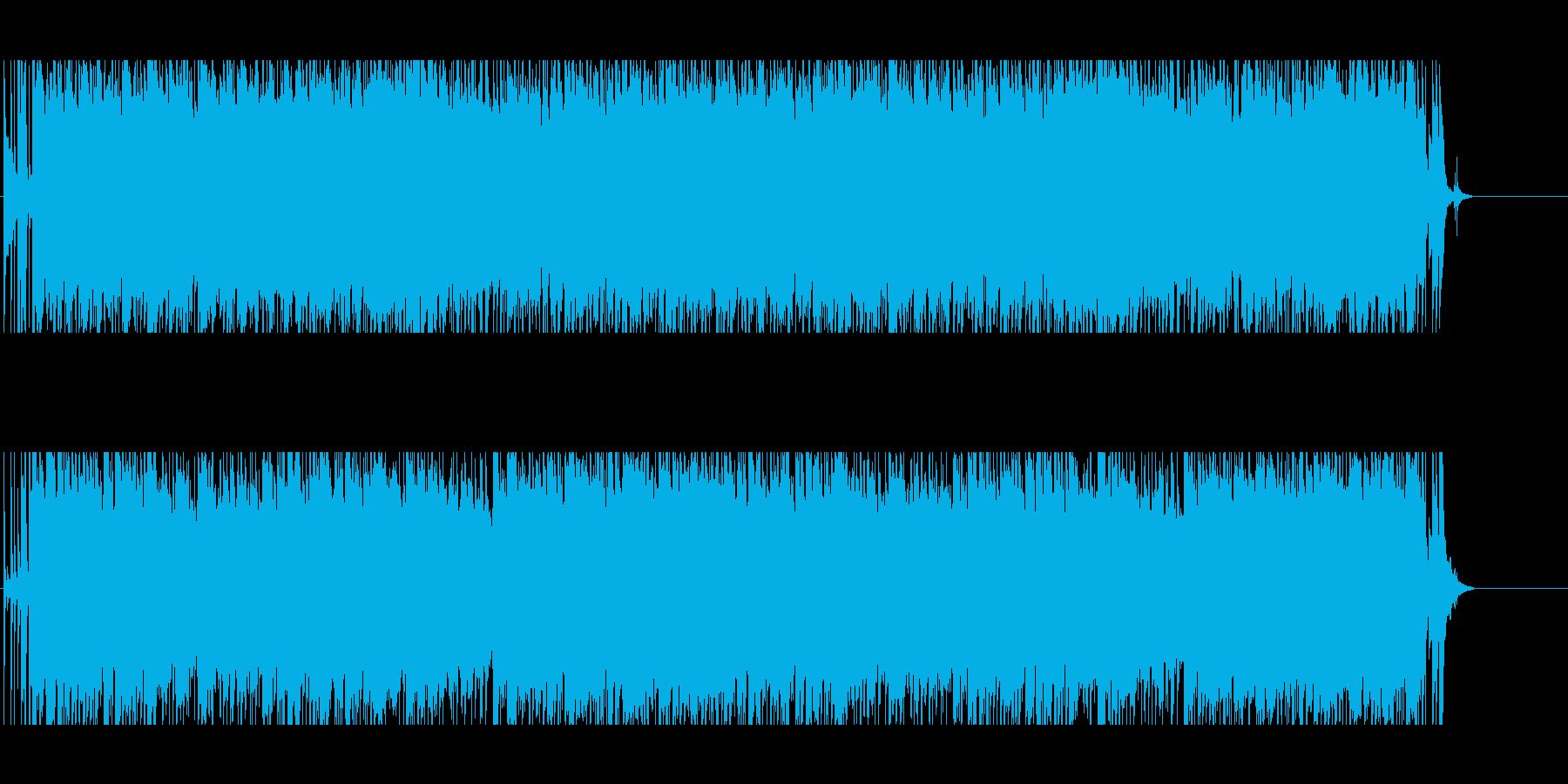 挑戦 闘志 元気 情報 追跡 軽快 情熱の再生済みの波形