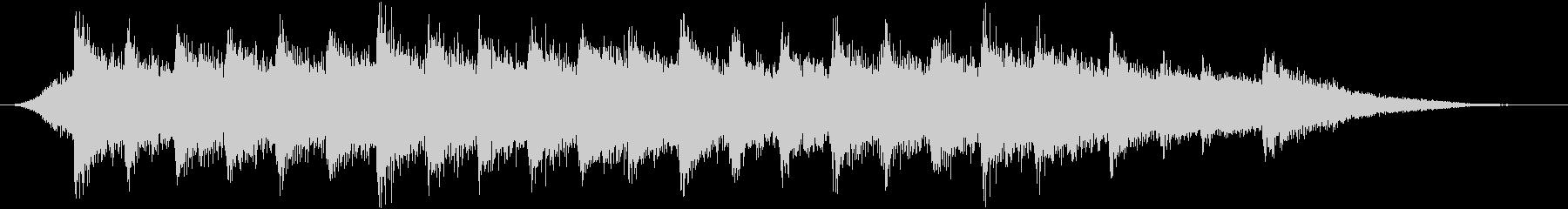 和風ジングル/ピアノ箏三味線の雄大なコクの未再生の波形