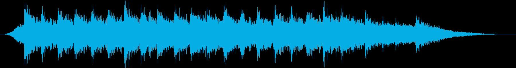 和風ジングル/ピアノ箏三味線の雄大なコクの再生済みの波形