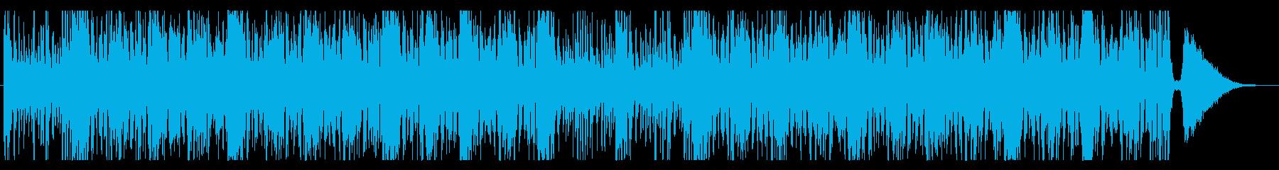 打楽器を多用した躍動感あるROCKの再生済みの波形