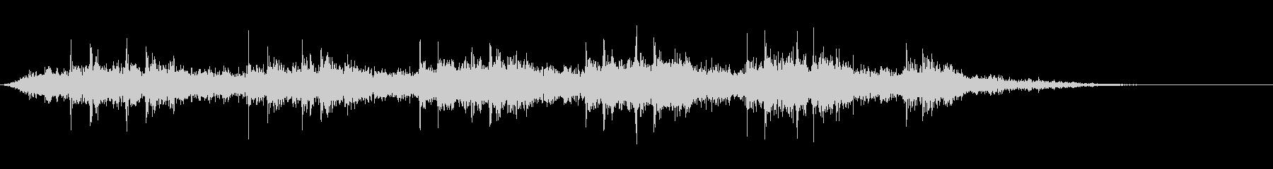 【生録音】 早朝の街 電車 環境音 22の未再生の波形