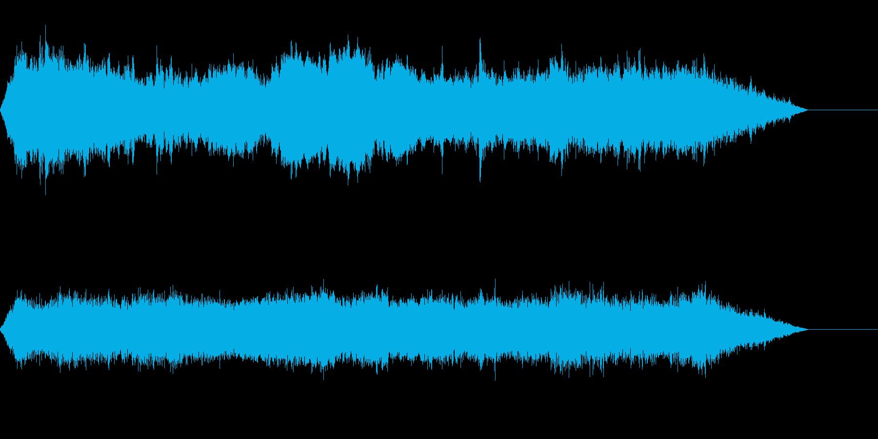 テクノロジー、ミステリアス、技術紹介、③の再生済みの波形