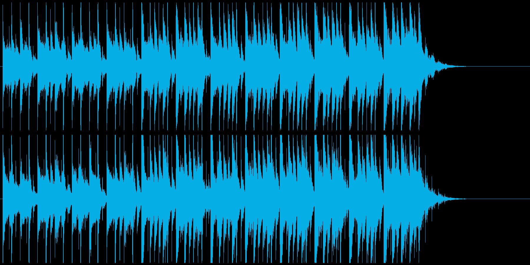 企業VP系ジングル 爽やかおしゃれピアノの再生済みの波形