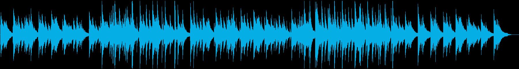まさにジャズチックなおしゃれな曲の再生済みの波形