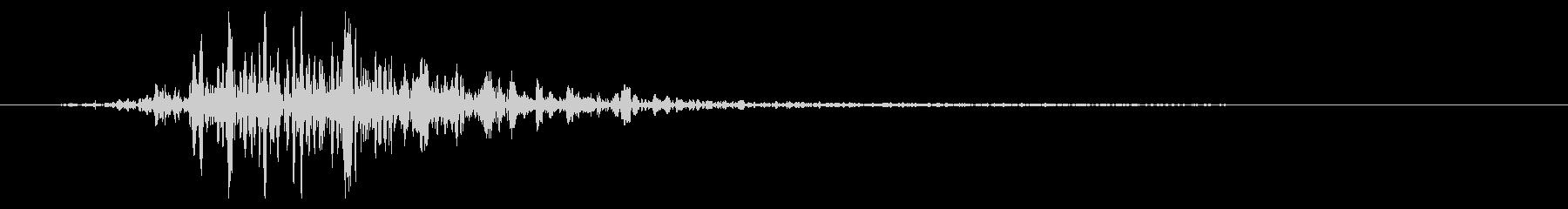 ワーム モンスター キャラタップ 驚きの未再生の波形