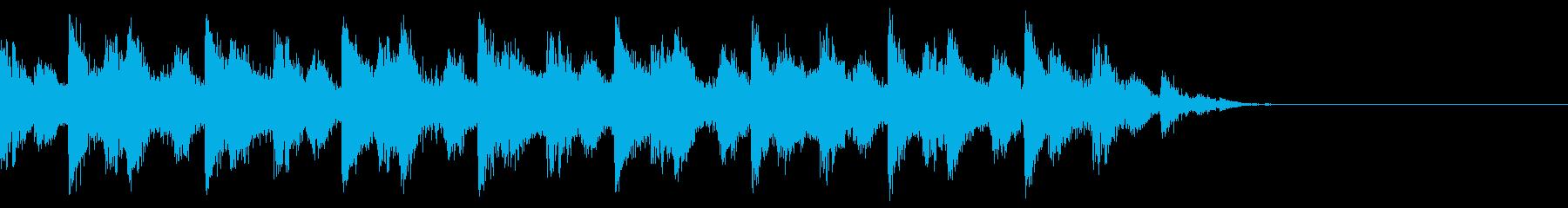 情熱的でカッコいいヒップホップ 12秒の再生済みの波形