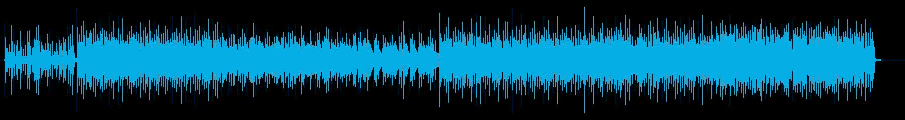 可愛らしいフューチャーベース トラップの再生済みの波形