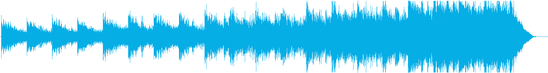 緊迫感のあるシネマティック曲 2-4の再生済みの波形