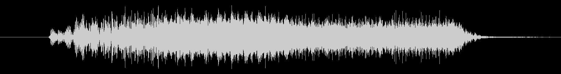 バリア音(ビューン) SE の未再生の波形