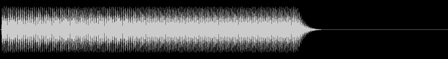 ビバッ(アラート音、告知音、デジタル)の未再生の波形