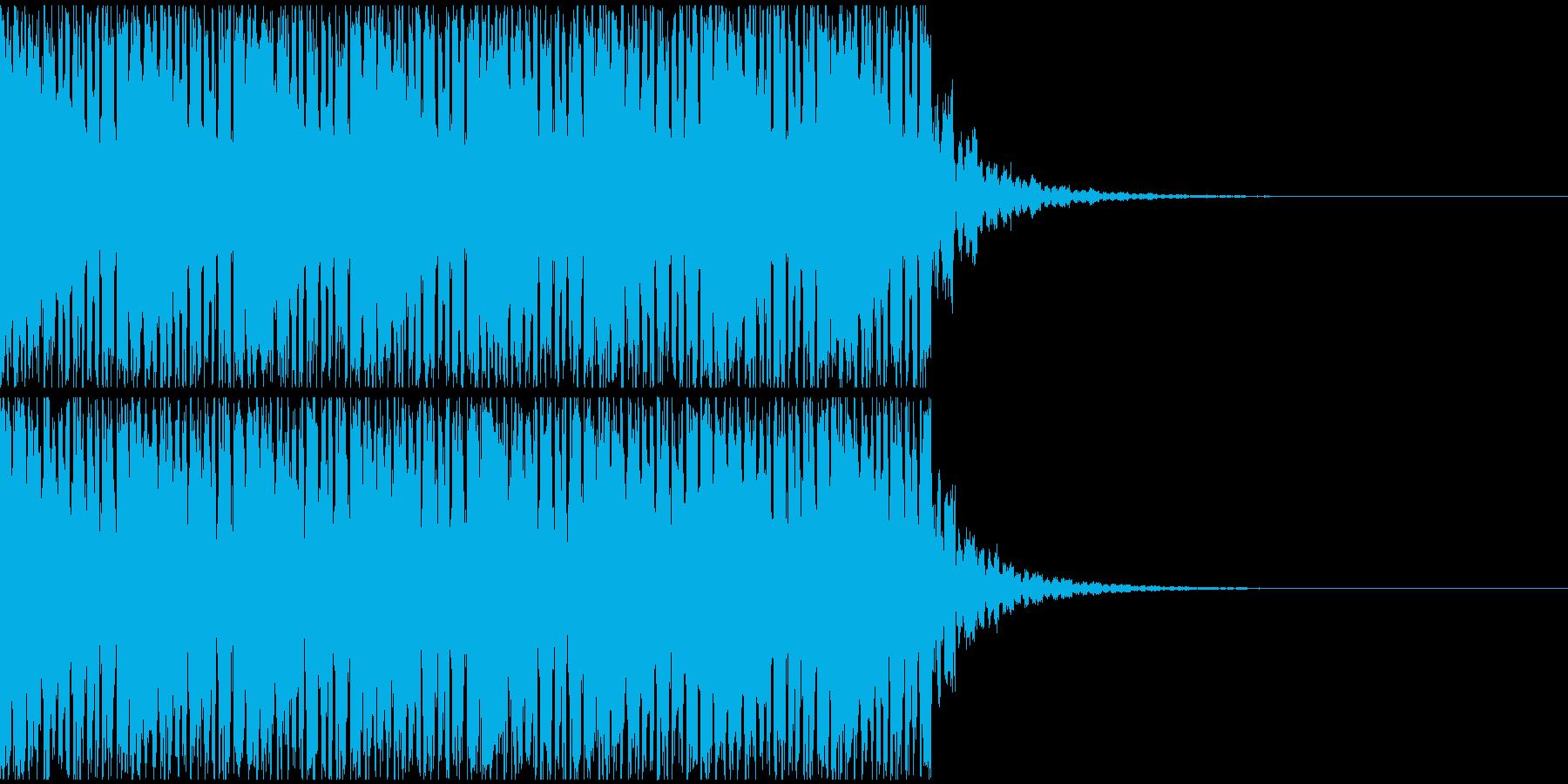 【EDM】20秒、ジングル3の再生済みの波形