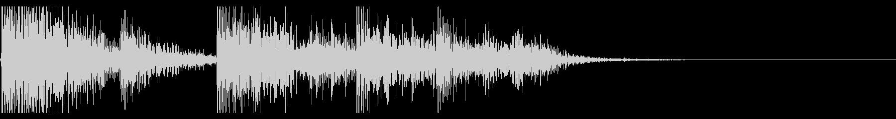 【生録音】ブリキのバケツの音 学校 9の未再生の波形