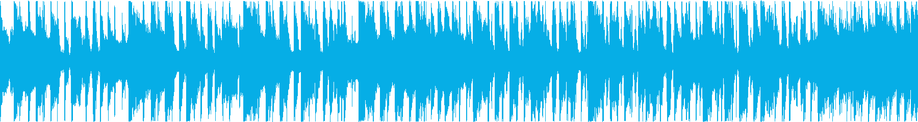 ギター中心のグルーブがループしますの再生済みの波形