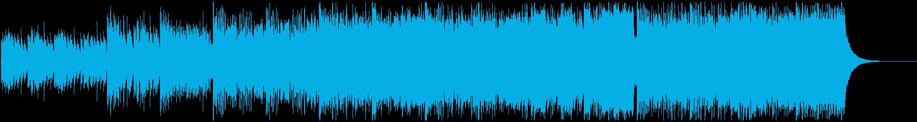 クラシック「ガヴォット」EDMバージョンの再生済みの波形