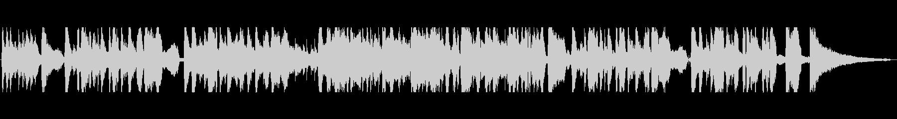 キウイをテーマにした楽曲の未再生の波形