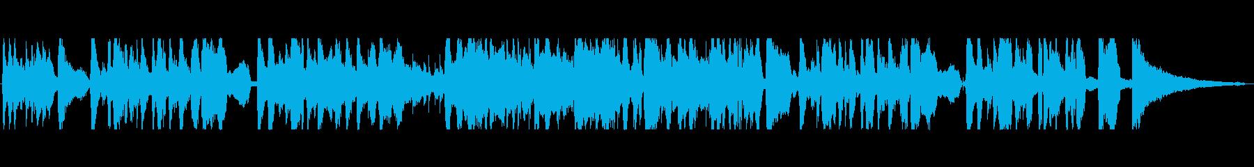 キウイをテーマにした楽曲の再生済みの波形