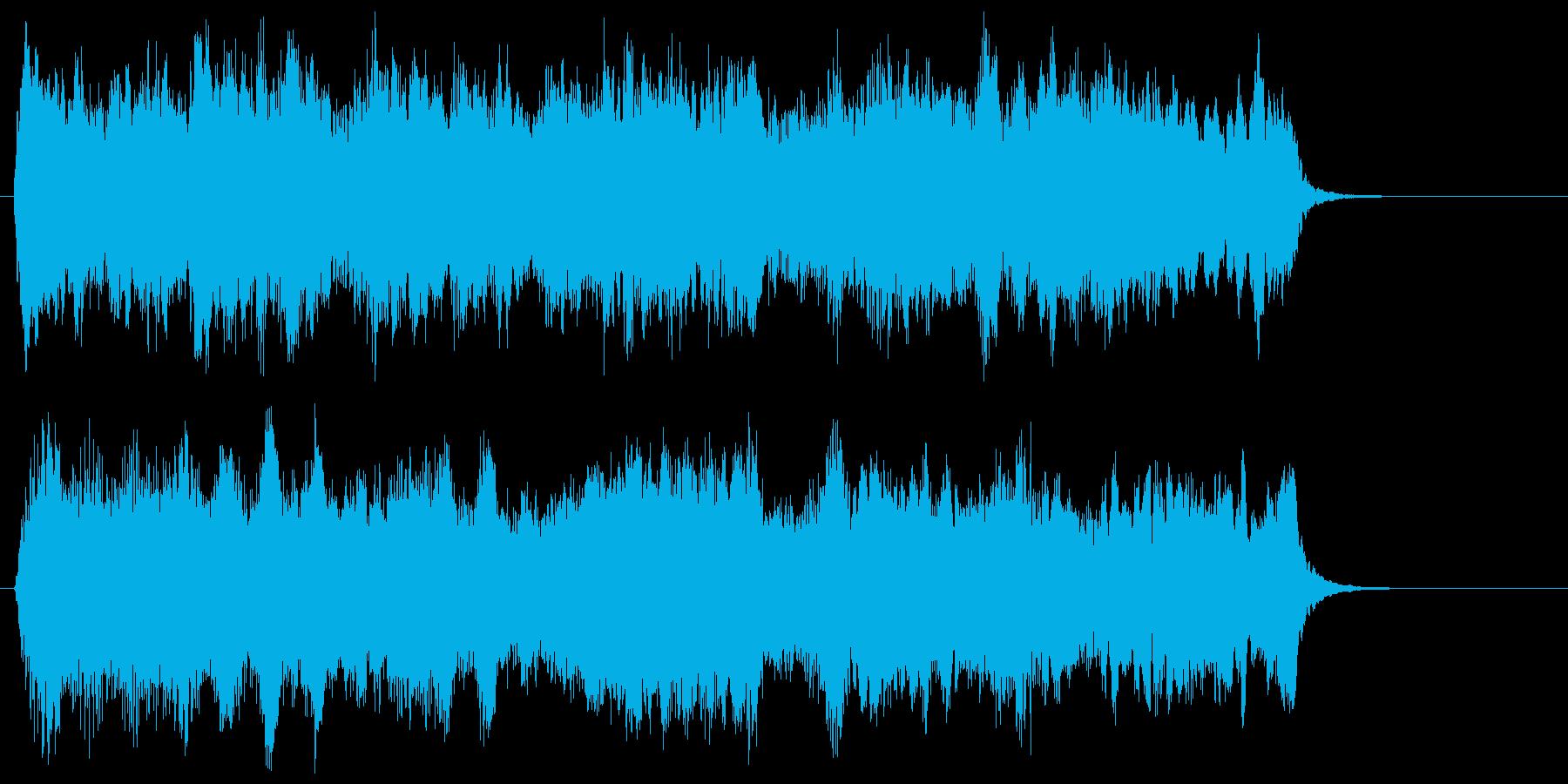 華麗で優雅なストリングスポップジングルの再生済みの波形
