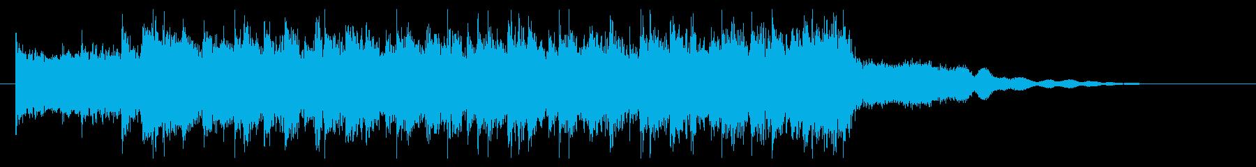 プロレスや過激パフォーマンス(ゴング有)の再生済みの波形