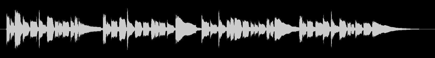 アコギで童謡 こいのぼり 鯉のぼりの未再生の波形