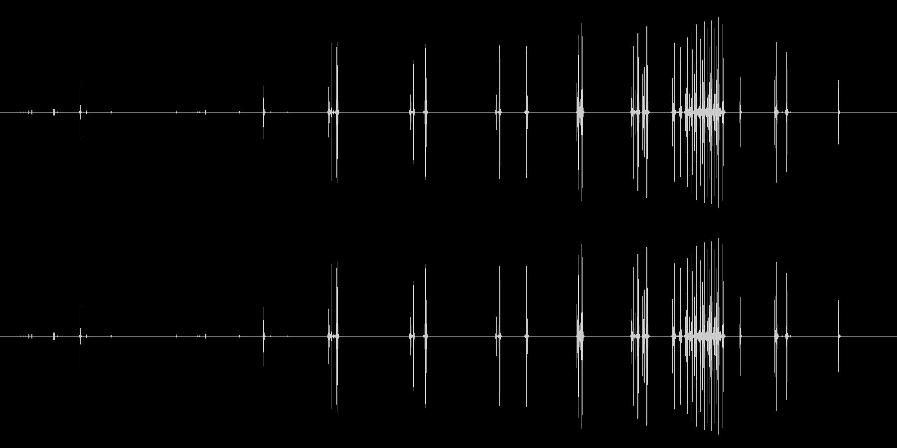 M1カービンライフル:移動。 M1...の未再生の波形