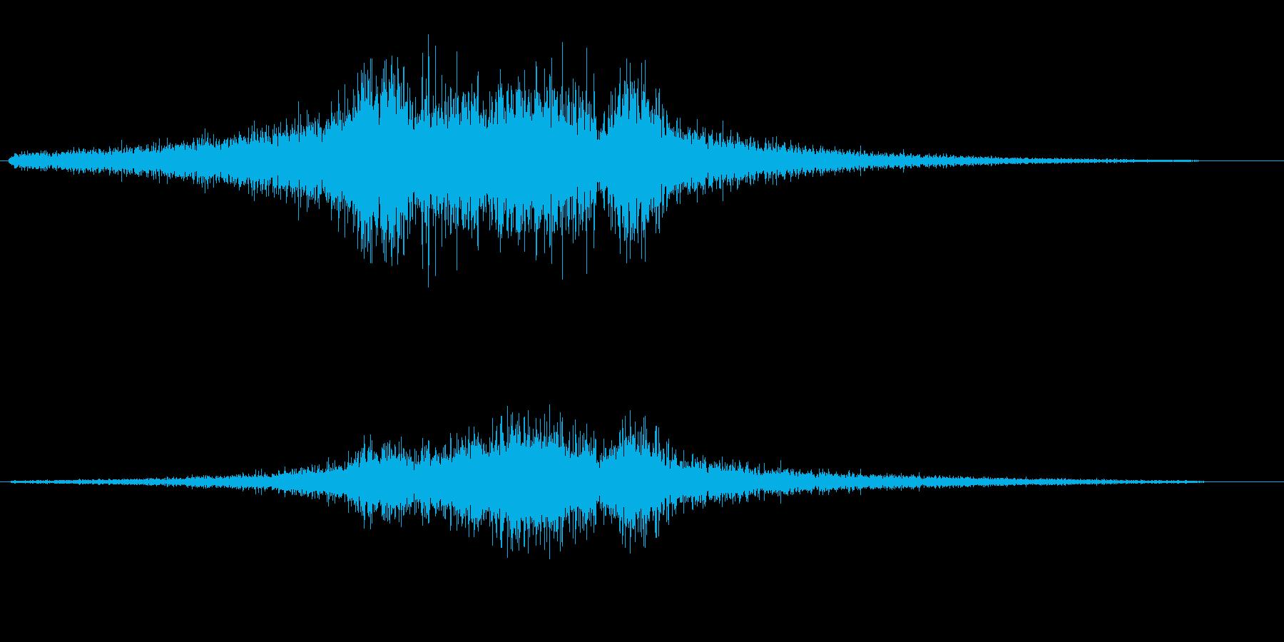 プフィーンシャーン!(電気的な金縛り音)の再生済みの波形