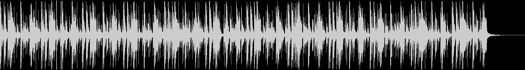 支離滅裂・狂気をイメージしたBGMの未再生の波形