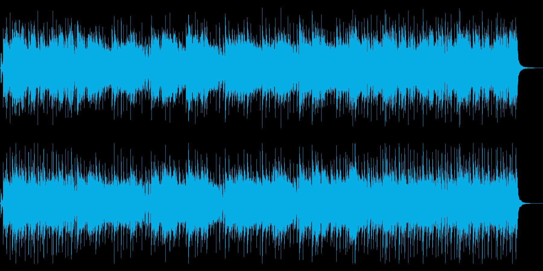 マレーシア風ポップサウンドの再生済みの波形