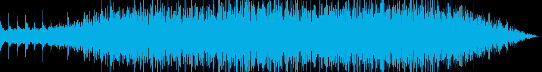 悲哀をイメージしたBGMの再生済みの波形